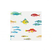 Calanques motif poissons
